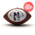 Gifts, Holiday: Northwestern Wildcats Ornaments Football
