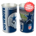 Home Accessories, Bed and Bath: Dallas Cowboys Waste Basket