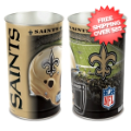 Home Accessories, Bed and Bath: New Orleans Saints Waste Basket