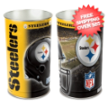 Home Accessories, Bed and Bath: Pittsburgh Steelers Waste Basket