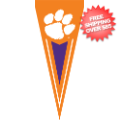 Collectibles, Pennants: Clemson Tigers Pennant