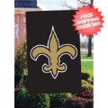 Home Accessories, Outdoor: New Orleans Saints Outdoor Flag <B>BLOWOUT SALE</B>