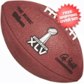 Collectibles, Footballs: Super Bowl 45 Football Packers vs Steelers