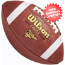 Wilson NCAA Traditional Leather Football