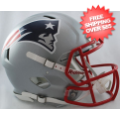 Helmets, Full Size Helmet: New England Patriots Speed Football Helmet