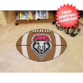 Home Accessories, Game Room: New Mexico Lobos Football Floor Mat