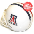 Helmets, Mini Helmets: Arizona Wildcats NCAA Mini Football Helmet <B>White</B>