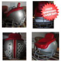 Home Accessories, Game Room: Ohio State Buckeyes Football Helmet Chair