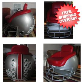 Ohio State Buckeyes Football Helmet Chair
