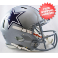 Helmets, Full Size Helmet: Dallas Cowboys Speed Football Helmet