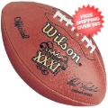 Collectibles, Footballs: Super Bowl 31 Football Patriots vs Packers