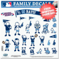 Car Accessories, Detailing: Tampa Bay Rays Window Decals