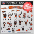 Car Accessories, Detailing: Cleveland Browns Window Decals