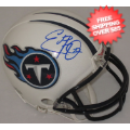 Autographs, Mini Football Helmets: Eddie George Tennessee Titans Autographed Mini Helmet