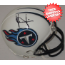 Vince Young Tennessee Titans Autographed Mini Helmet