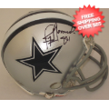 Autographs, Mini Football Helmets: Jay Novacek Dallas Cowboys Autographed Mini Helmet