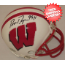 Ron Dayne Wisconsin Badgers Autographed Mini Helmet