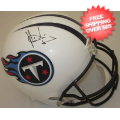 Autographs, Full Size Helmet: Vince Young Tennessee Titans Autographed Full Size Replica Helmet