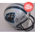 Autographs, Full Size Helmet: Deangelo Williams Carolina Panthers Autographed Full Size Replica Helmet