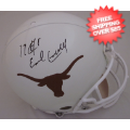 Autographs, Full Size Helmet: Earl Campbell Texas Longhorns Autographed Full Size Authentic Helmet
