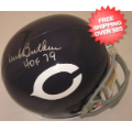 Autographs, Full Size Helmet: Dick Butkus Chicago Bears Autographed Full Size Replica Helmet