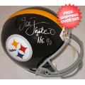 Autographs, Full Size Helmet: Jack Lambert Pittsburgh Steelers Autographed Full Size Authentic Helmet