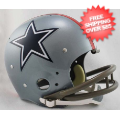 Helmets, Full Size Helmet: Dallas Cowboys 1976 TK Throwback Football Helmet