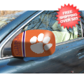 Car Accessories, Detailing: Clemson Tigers NCAA Small Mirror Cover
