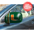 Car Accessories, Detailing: Miami Hurricanes NCAA Small Mirror Cover