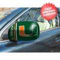 Car Accessories, Detailing: Miami Hurricanes NCAA Small Mirror Cover