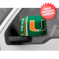 Car Accessories, Detailing: Miami Hurricanes NCAA Large Mirror Cover