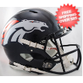 Helmets, Full Size Helmet: Denver Broncos Speed Football Helmet