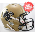 Helmets, Full Size Helmet: New Orleans Saints Speed Football Helmet