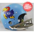 Helmets, Full Size Helmet: Kansas Jayhawks 1964 TK Helmet Full Size Throwback