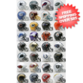 Helmets, Mini Helmets: Mini Football Helmet 32 NFL Teams Complete Set Riddell