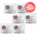 Helmets, Mini Helmets: NFL Shield Logo NFL Mini Football Helmet 6 count