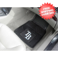 Car Accessories, Detailing: Tampa Bay Rays Vinyl Car Mats