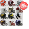 Helmets, Mini Helmets: Big Ten Mini Speed Football Helmet Conference Riddell NCAA Helmets