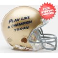 Helmets, Mini Helmets: Notre Dame Fighting Irish NCAA Mini Football Helmet <B>Play Like a Champion...