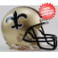 New Orleans Saints 1976 to 1999 Riddell Mini Replica Throwback Helmet