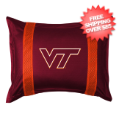 Home Accessories, Bed and Bath: Virginia Tech Hokies Sham Sideline