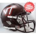Helmets, Full Size Helmet: Virginia Tech Hokies Speed Football Helmet