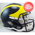 Helmets, Full Size Helmet: Michigan Wolverines Speed Football Helmet
