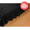 Home Accessories, Bed and Bath: New Orleans Saints Bedskirt Full