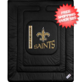 Home Accessories, Bed and Bath: New Orleans Saints Comforter Twin