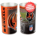 Home Accessories, Bed and Bath: Cincinnati Bengals Waste Basket