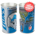 Home Accessories, Bed and Bath: Detroit Lions Waste Basket