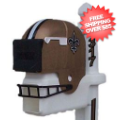 Home Accessories, Outdoor: New Orleans Saints Helmet Mailbox