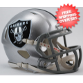 Helmets, Mini Helmets: Oakland Raiders NFL Mini Speed Football Helmet