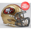 San Francisco 49ers NFL Mini Speed Football Helmet